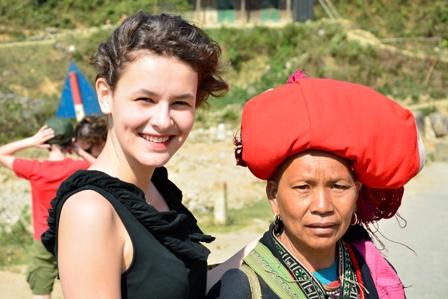Dao Ethic Minority in Sapa, Vietnam