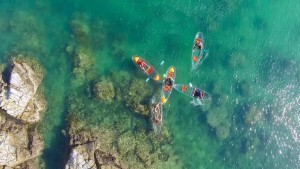 Amazing Glass Bottomed Kayaks unique in Vietnam