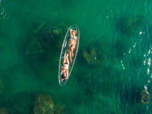 Transparent Kayaks Emperor Cruises
