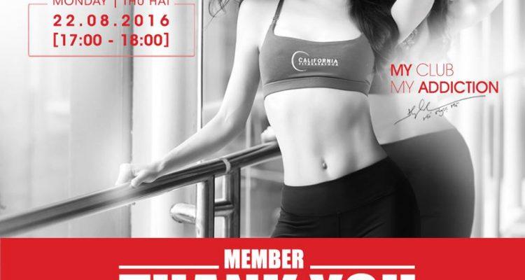 California Fitness Members night nha trang