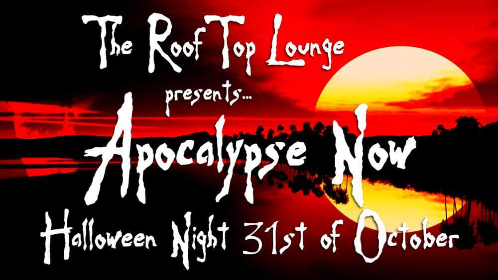 rooftop lounge halloween party