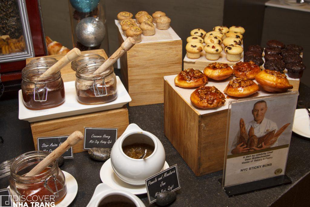 Pastries at Intercontinental nha trang