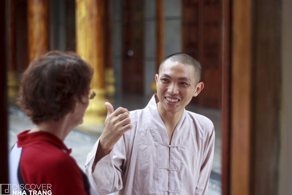 Head monk Tu Bong Village
