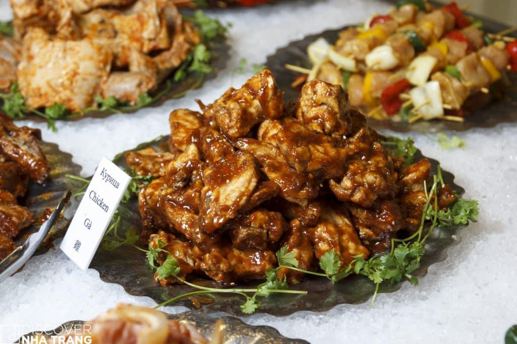 Meat Selection Grill Garden nha trang