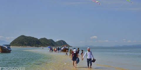 Sandbar at Diep Son Island - Nha Trang-VIetnam