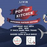 Japanese Pop Up Kitchen at LIVINcollective